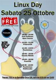 Linux day Pescara 25 ottobre 2015